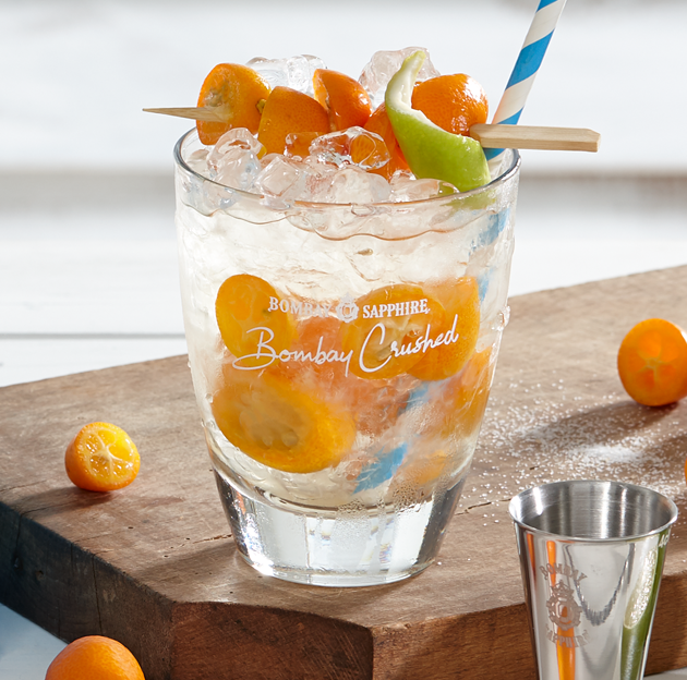 BOMBAY CRUSHED GLAS ACTIVIERUNG