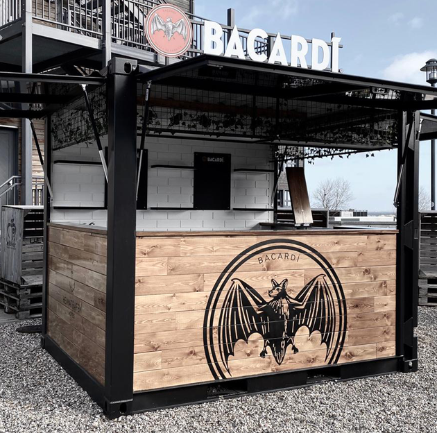 BACARDI BAR CONTAINER