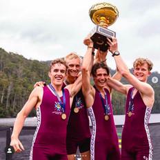 2021 Australian Rowing Championships ISLM4- winners