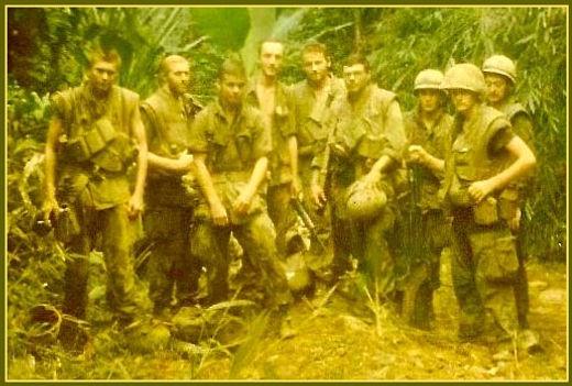 2nd Squad plus the Gun Team, 2nd Platoon