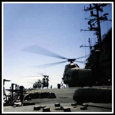USS Princeton, Ready for Combat Landing.