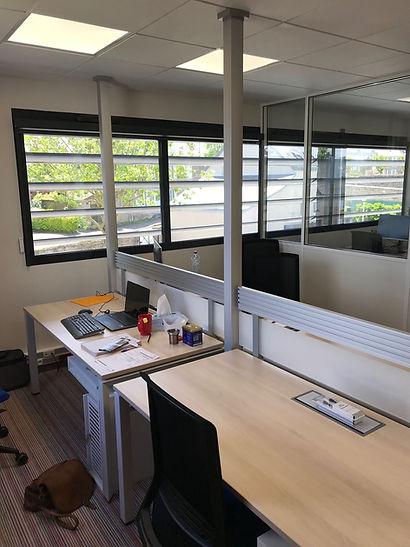 bureau partagé à louer espace de coworking la rampe avranches Normandie