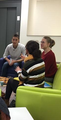 espace coworking Rampe événements experts déjeuner entrepreneurs association BBC échanges café