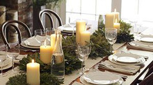 Simple yet beautiful holiday table