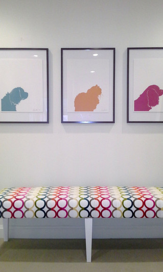 Colorful Pet Silhouettes