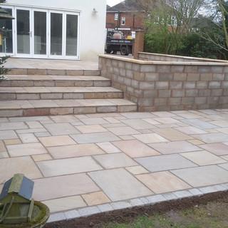 India stone patio in Didsbury