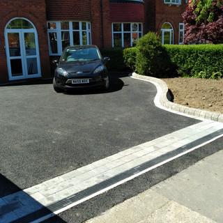 Tarmac driveway in Didsbury