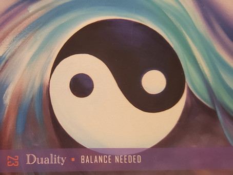 Spirit Says: Energy of January 2021 is Duality - Find Your Balance