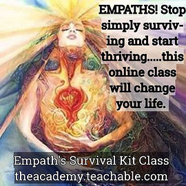 This class is a call to ALL Empaths! No