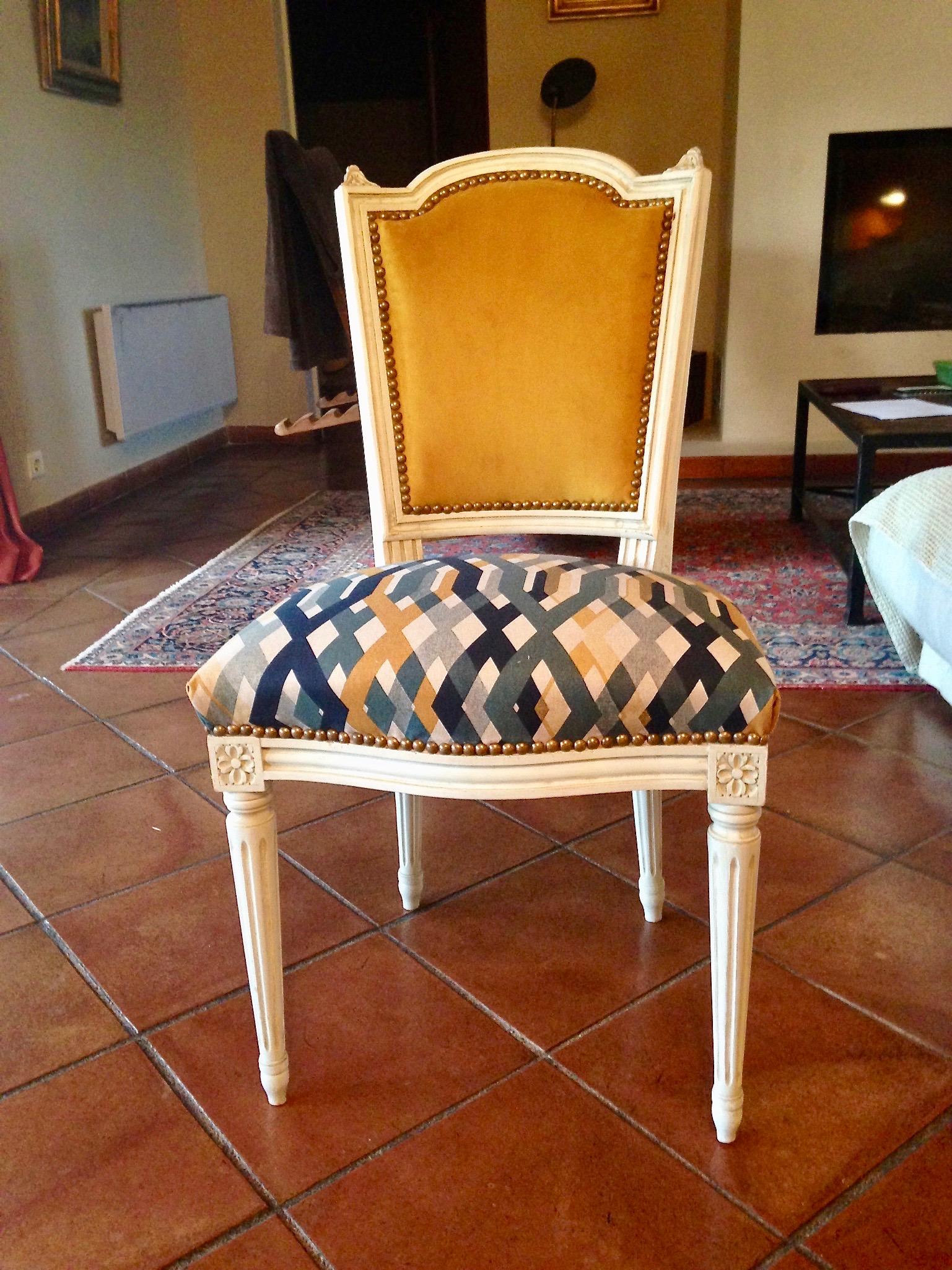 Rénovation Chaise