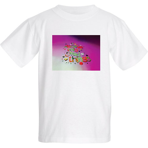 Kids T Shirt - Positive affirmation - I deserve only good things