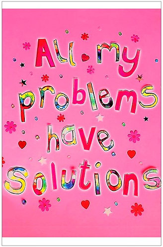 Poster - All my problems have solutions