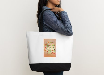 Shoulder bag - I am strong, confident & successful in everything I do