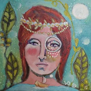 Celestial Sea Goddess