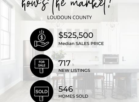 Loudoun County Market Update...