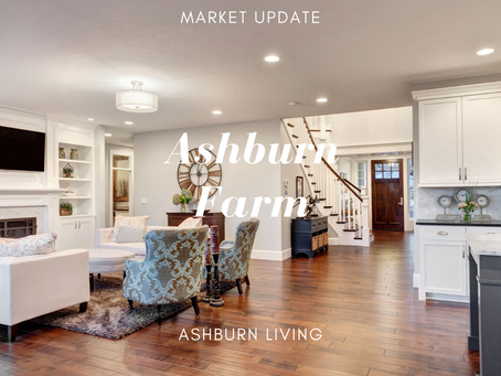 Market Update For Ashburn Farm...