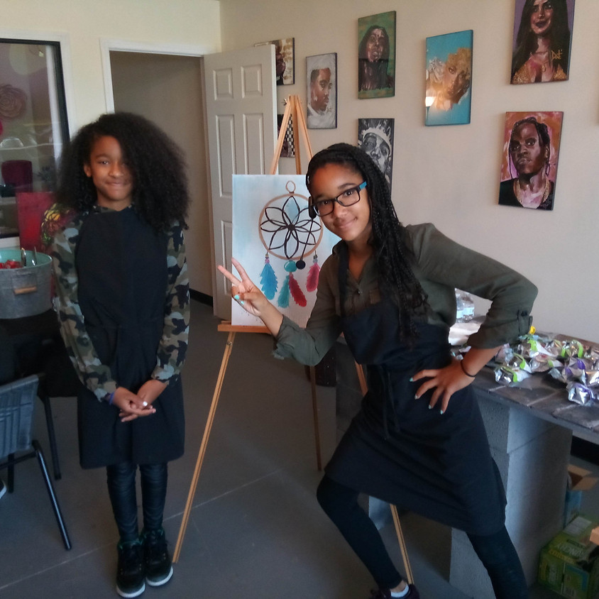 OPEN TO PUBLIC:  Teen Art Class with Kennedy Nicole Prather
