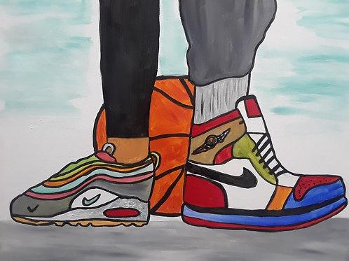 Love & Basketball(Double Canvas)
