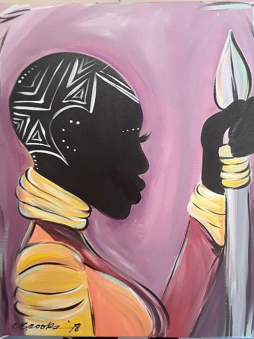 Wakanda Warrior