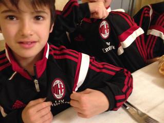 I piccoli campioni del Milan nel nostro Agriturismo