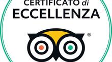 Certificato d'eccellenza 2018