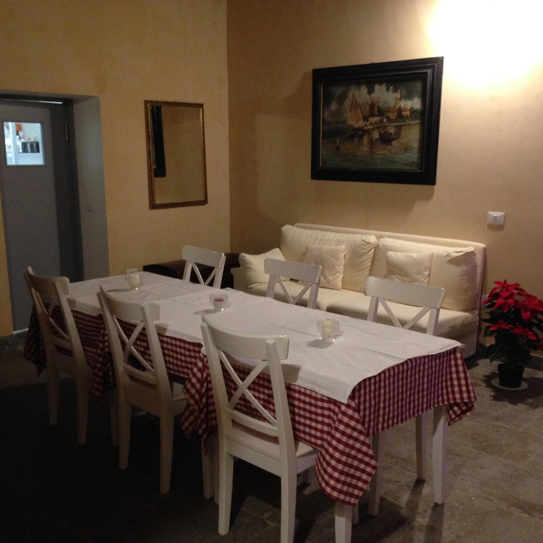 Sala del camino Cascina Guastalla