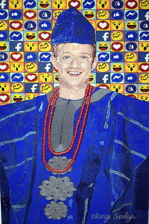 Mark Zuckerberg -Olaniyi Sunday