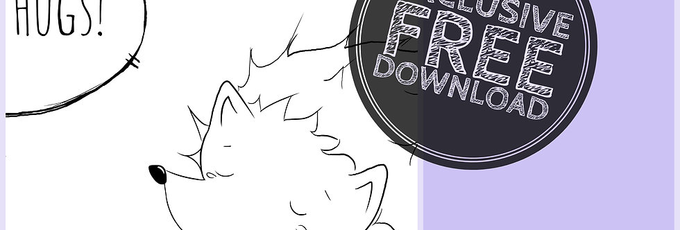 CCC# 36 FREE HUGS Creepy Cute Chronicles