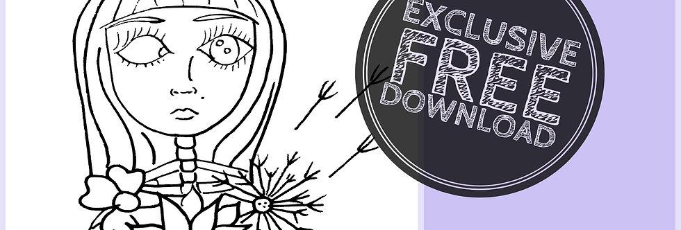 CCC# 49 BLOOM & GROW Creepy Cute Chronicles