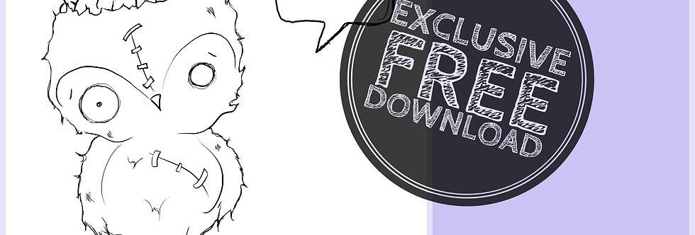 CCC# 15 ZOMBIE OWL Creepy Cute Chronicles
