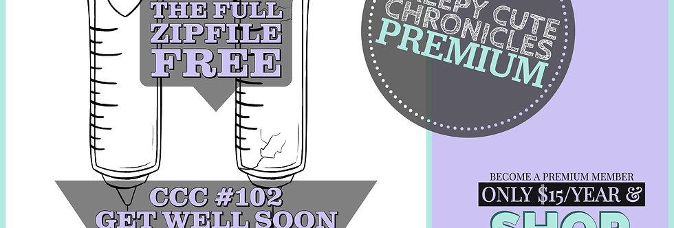 CCC# 102 GET WELL SOON Creepy Cute Chronicle