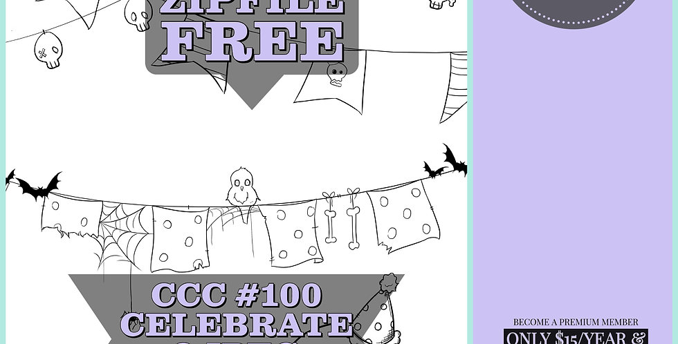 CCC# 100 CELEBRATE Creepy Cute Chronicle