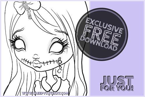 CCC# 18 ZOMBIE GIRL Creepy Cute Chronicles