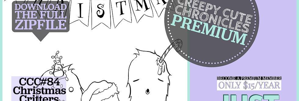 CCC# 84 CHRISTMAS CRITTERS PREMIUM Creepy Cute Chronicles