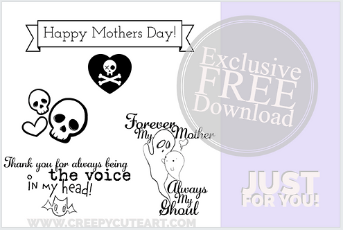 CCC#1 HAPPY MOTHERS DAY Creepy Cute Chronicles
