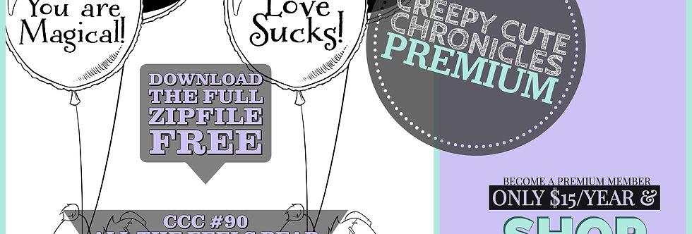 CCC# 90 ALL THE FEELS BEAR Creepy Cute Chronicle