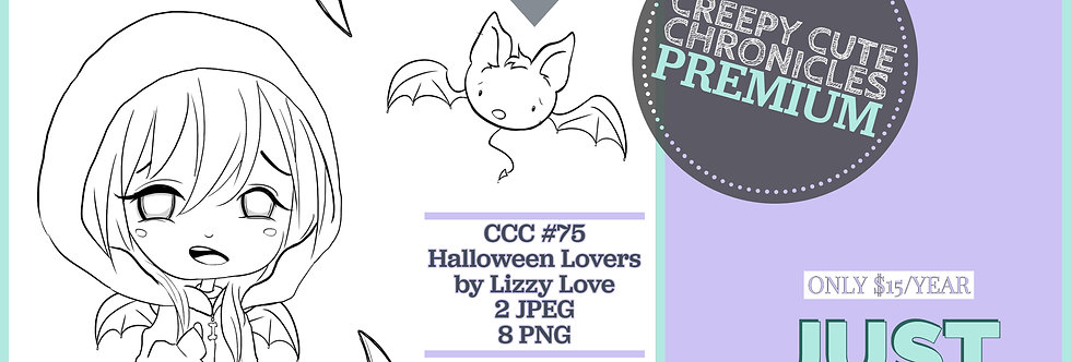 CCC# 75 HALLOWEEN LOVERS PREMIUM Creepy Cute Chronicles