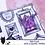 Thumbnail: Digi Stamp Twisted Circus Hissy Howler Creepy Cute Clown Chibi Image 532