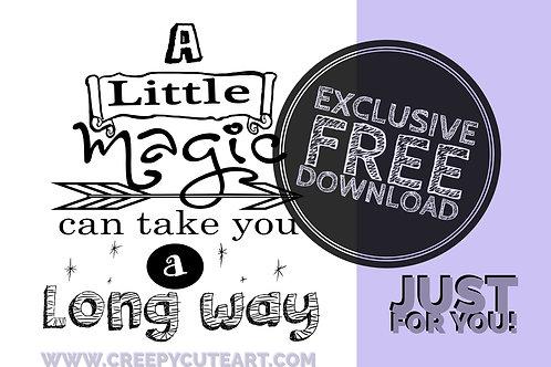 CCC# 5 A LITTLE MAGIC SENTIMENT Creepy Cute Chronicles