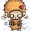Thumbnail: Digital Stamp Creepy Cute Zombie Sheep ONE DOLLAR STAMP Image No. 34