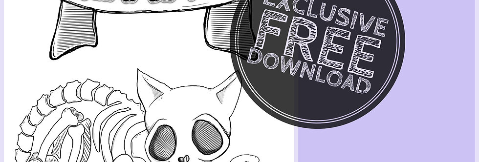 CCC# 40 BAD TO THE BONE Creepy Cute Chronicles