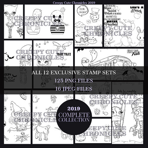 MEMBER EXCLUSIVES 2019 COMPLETE COLLECTION 125 IMAGES Creepy Cute Chronicles