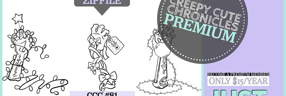 CCC# 81 CREEPMAS HANDS PREMIUM Creepy Cute Chronic