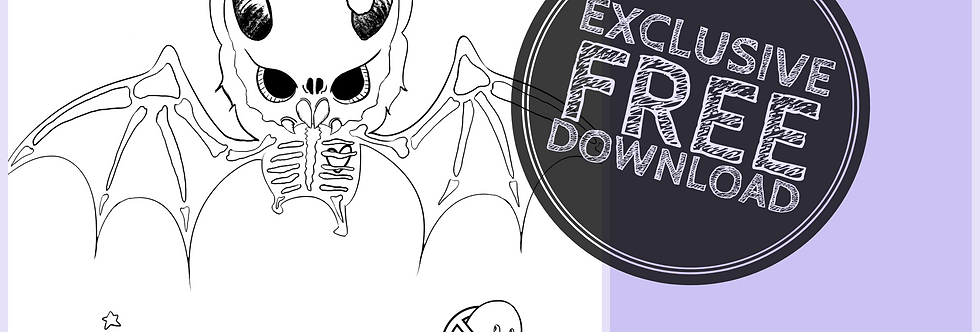 CCC# 51 BAT SKELLY Creepy Cute Chronicles
