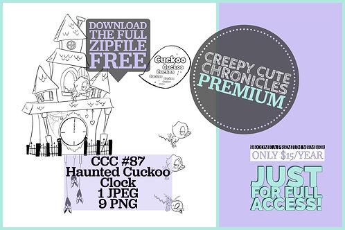 CCC# 87 HAUNTED CUCKOO CLOCK & CREEPY CUTE BIRDS Creepy Cute Chronicles