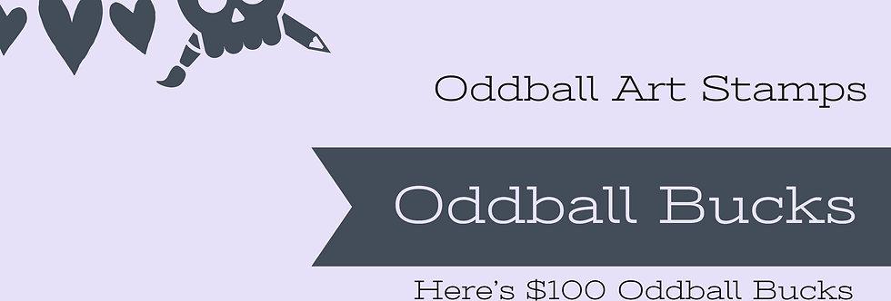 $100 Oddball Gift Card