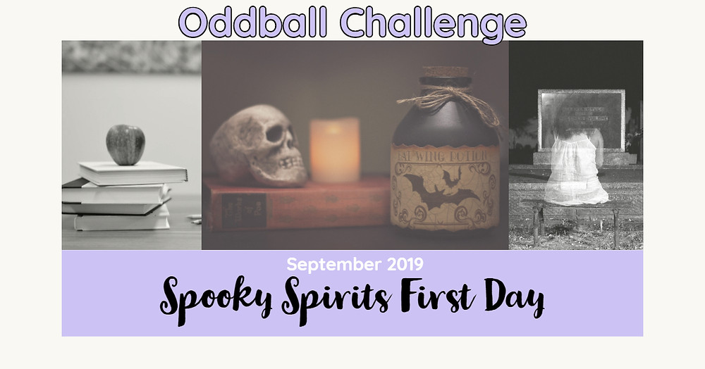 Anything goes stamp challenge with optional theme Spooky Spirits First Day