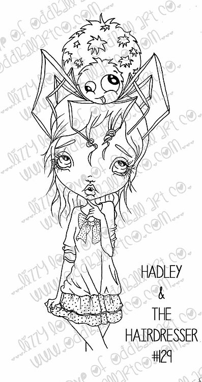 Printable Stamp Hadley and the Hairdresser Digital Download Image No 129