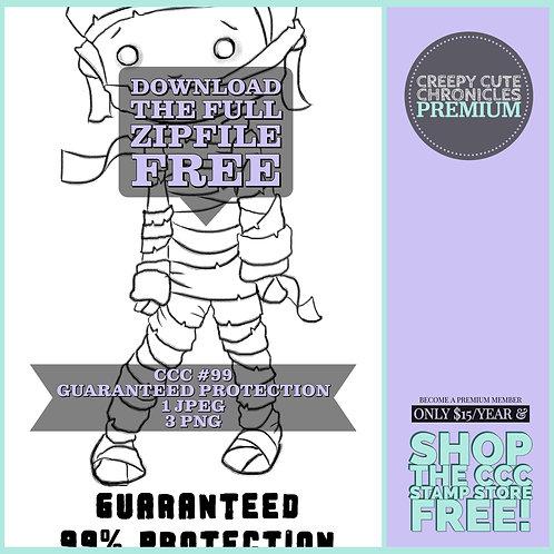 CCC# 99 TP MUMMY GUARANTEED PROTECTION Creepy Cute Chronicle