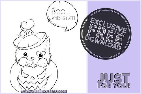 CCC# 21 BOO AND STUFF Creepy Cute Chronicles